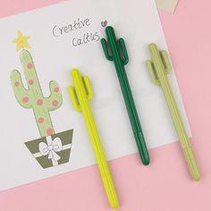creative cactus cartoon pens