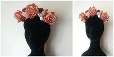 Roses #Crown - #Headpiece #1 by Cristina Biella (www.facebook.com/elanorsoulcreativity) #headdress #elanorlightart