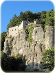 Der Berg Alverna mit dem Santuario