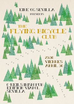 Flying Cycling Club Poster Design  opiel-design.com