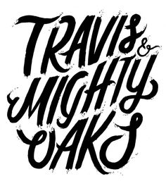 Travis & Mighty Oaks for The Michelberger Hotel by Georgia Hill, via Behance
