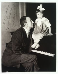 """To Mr. Steinway,  A grandfather in love -S. Rachmaninoff"""