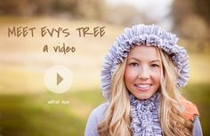 Meet Evy's Tree: A Video: Learn more about Evy's Tree...the embellished hoodie company. Watch the video by clicking on the image! www.evystree.com