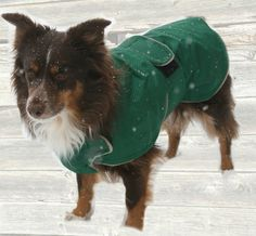 Winter Dog Coat, tough diamond ripstop, custom made with tummy panel for your dog, velcro closure by madebyde on Etsy https://www.etsy.com/listing/292399333/winter-dog-coat-tough-diamond-ripstop