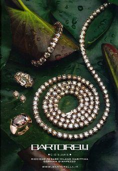 Parure di diamanti fancy brown by Bartorelli Maison