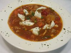 maryland crab   Be careful while enjoying Maryland Crab Soup to your heart, as it ...
