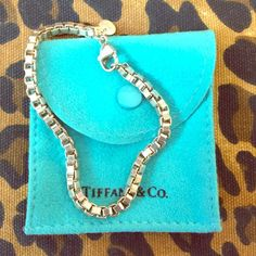 "Tiffany & Co. Venetian Link Silver Bracelet Venetian link bracelet by Tiffany & Co. Inspired by ancient Roman arches. Sterling silver, 7 1/2"" long. Will come in Tiffany & Co. pouch. Brand new without tags. Tiffany & Co. Jewelry Bracelets"