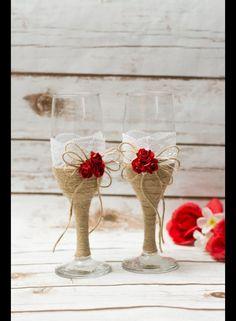Accessoires - Sektgläser Hochzeit Gläser Hochzeitsgläser - ein Designerstück von…