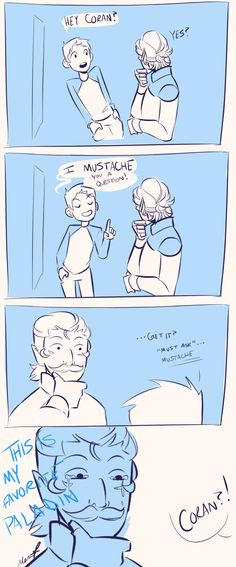 """yaboykeiji:  """"I was drawing Coran when I thought of this and had to stop and draw this instead  """""""