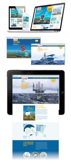 GustoMSC – The Pioneers of Offshore Engineering on Behance
