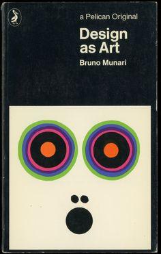 design as art (1971 ed., cover illustration by bruno munari)