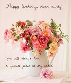Send Free Vintage Flower Bouquet Happy Birthday Card To Loved Ones