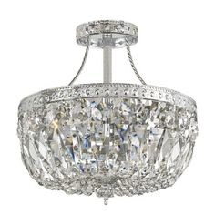 Found it at Wayfair - 3 Light Semi Flush Mount
