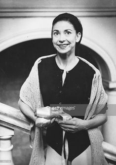 Prima ballerina Dame Margot Fonteyn (1919 - 1991) in Oslo.