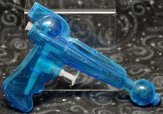 Vintage plastic water gun cool fantasy ray gun shape