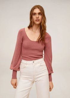 Latest trends in women's cardigans and sweaters. Discover our selection: striped, knitwear, wool sweaters and cardigans. Long Knit Cardigan, Cotton Cardigan, Ribbed Sweater, Cardigans For Women, Cashmere Sweaters, Rib Knit, Knitwear, Latest Trends, Mango