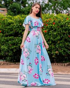 Shop sexy club dresses, jeans, shoes, bodysuits, skirts and more. Long Gown Dress, Frock Dress, Maxi Dress With Sleeves, Long Frock, Dress Skirt, Frock Design, Stylish Dresses, Women's Fashion Dresses, Skirt Fashion