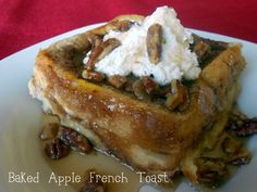 Six Sisters' Stuff: Baked Apple Pie French Toast Recipe