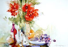 Watercolour-Acuarela-Corneliu-Dragan-Targoviste-natura-moarta-compozitie-2.jpg 620×431 pixels