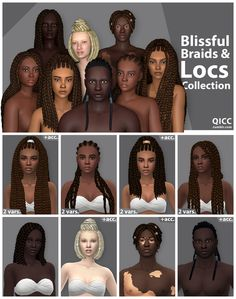 Sims 4 Game Mods, Sims Mods, Locs, Maxis, The Sims 4 Packs, Sims 4 Mm Cc, Sims 4 Mods Clothes, Sims Hair, Sims 4 Cc Finds