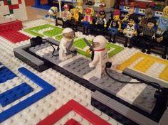 Lego fencing