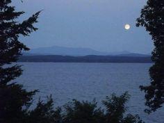 Lake Champlain - South Hero, Vermont from Camp Hochelaga