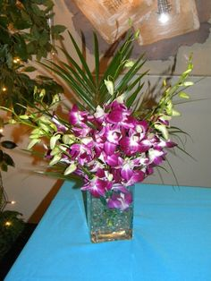Orchid Centerpiece by Me