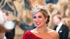 Koningin Máxima is een beeldschone 'lady in red' in Italië | Nouveau