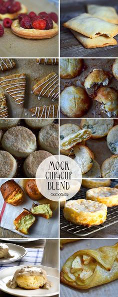Mock Cup4Cup Gluten Free Flour Blend Recipes