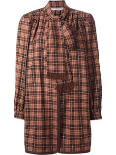 Yves Saint Laurent Vintage 1975's Checked Unlined Jacket - Dressing Factory - Farfetch.com