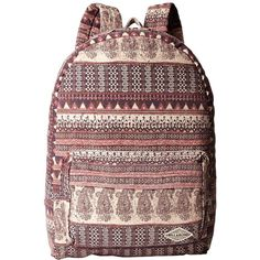 Billabong Hand Over Love Backpack (Mystic Maroon) Backpack Bags ( 45) ❤  liked on Polyvore featuring bags 9c4b638f4a0