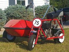 Amazing 3 Wheelers - #searchlocated -Custom Vintage MINI-BIKE w/SIDECAR
