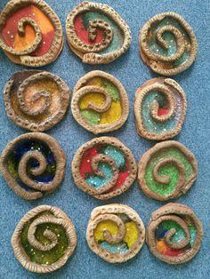 Ulita na záhonek /keramika v MŠ
