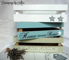 3 set wooden boxes