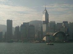Morning Hong Kong Skyline