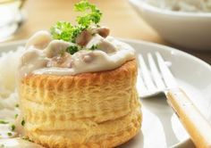 creamy chicken a la king, vol-au-vent - Philippe Desnerck/Photolibrary/Getty Images