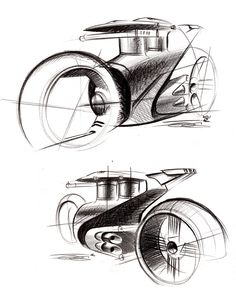 Furious wheels : Part 2 by Olivier Gamiette, via Behance