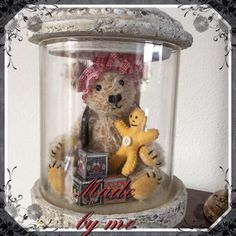 """Saartje with her doll. Made this in 2013. Patron Saartje """"Toos Keuning"""" Patron doll my idea"""