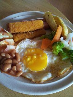 Heavy breakfast for today.
