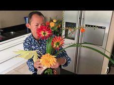 Tutoriel art floral japonais Ikebana Ikenobo - YouTube