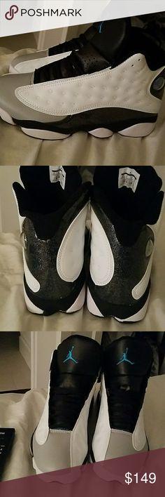 Air jordans A brand new pair Air Jordan Retro 13s never worn black grey and white beautiful sneaker air jordan Shoes Sneakers