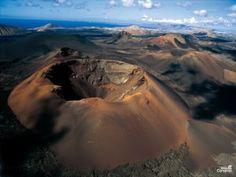Fire Mountains of the National Park Timanfaya en Lanzarote