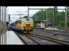 Banán, elektrická lokomotiva řady 151 (FHD) - YouTube Train, Vehicles, Youtube, Zug, Rolling Stock, Strollers, Vehicle, Tools