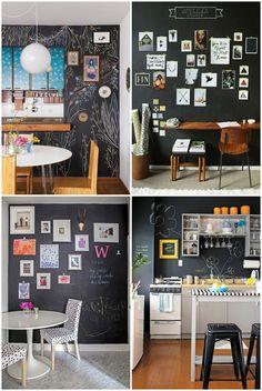 Ideias bem lindas para fazer na sua parede lousa - 01