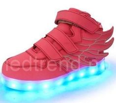 New Wing Children Shoes Breathable Sneakers Fashion Sport Led Usb Luminous Lighted Shoes for Kids glowing Boys Casual Girls Moda Sneakers, Girls Sneakers, Sneakers Fashion, Shoes Sneakers, Fashion Shoes, Toddler Sneakers, Tween Fashion, Running Sneakers, Led Light Up Sneakers