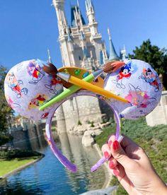 Disney Ears Headband, Diy Disney Ears, Disney Minnie Mouse Ears, Disney Headbands, Disney Diy, Cute Disney, Disney Style, Disney Food, Ear Headbands