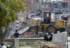 El desalojo del barrio Papa Francisco llegó menes después de la toma. Alrededor del asentamiento hubieron, al menos, tres crímenes.