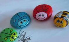 Resultado de imagen para piedras pintadas buhos