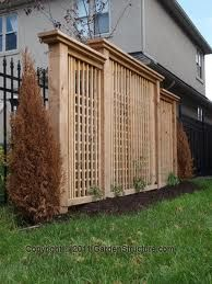 privacy fence panels - Google Search