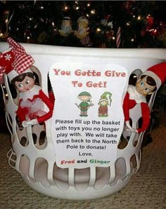 """Kindness Elves Idea 